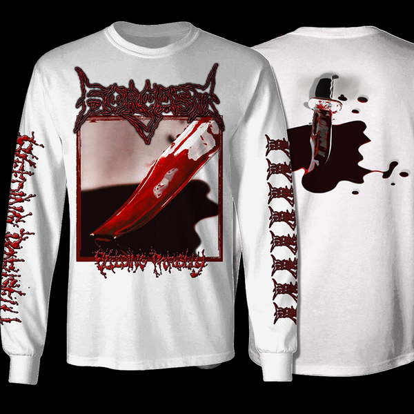 Image of Bleeding Profusely White Longsleeve