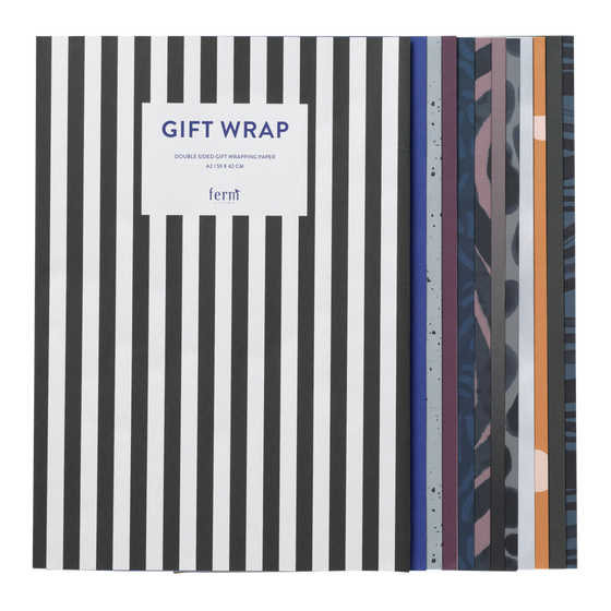 Image of Gift wrapping sheet book