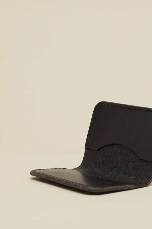 Image of Fold Wallet in Coal