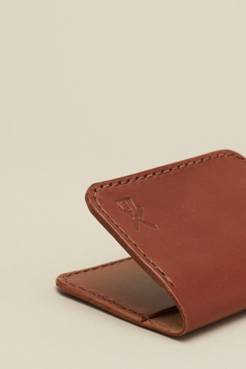Image of Fold Wallet in Mahogany