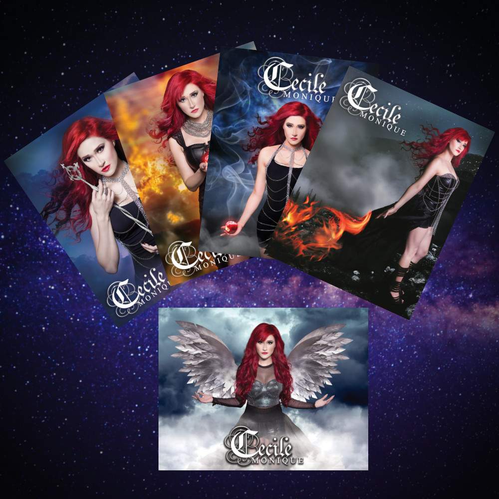 Image of Cecile Monique - GENESIS - Album Artwork 5 Poster Set