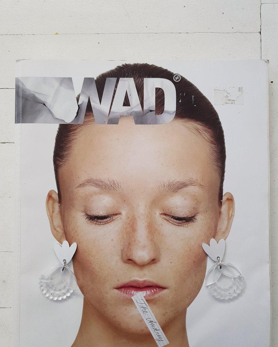 Image of uhani ROŽA .5 // earrings FLOWER .5