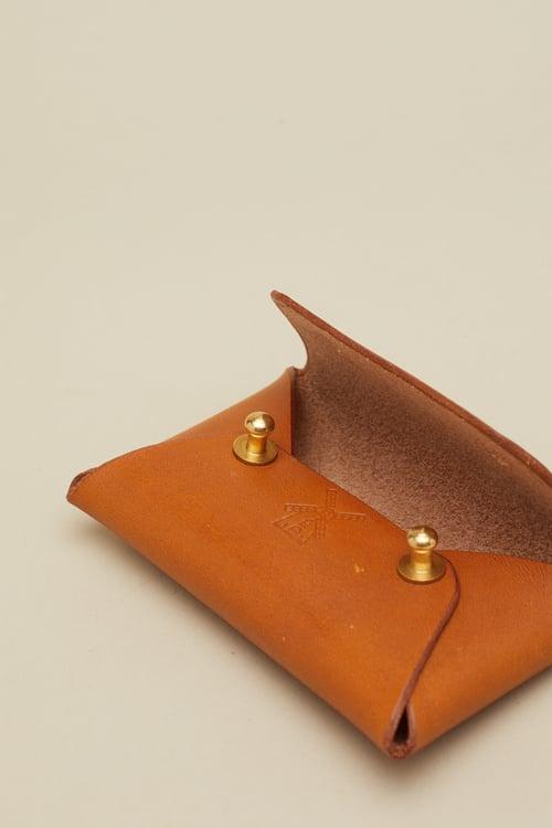 Image of Envelope Wallet in Tan