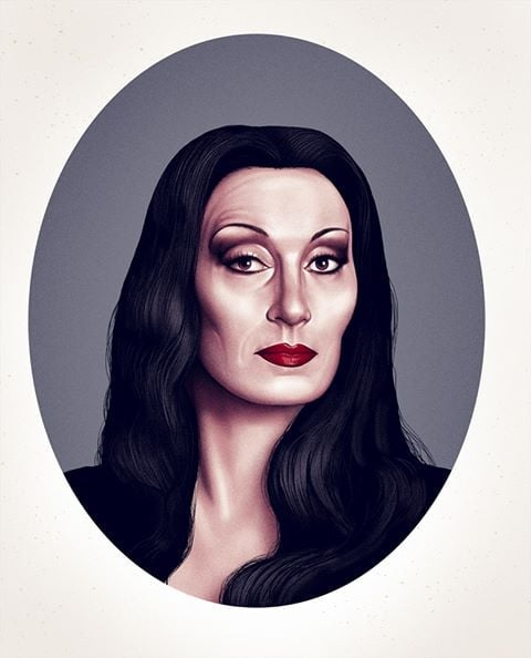 Image of Addams Family Portraits