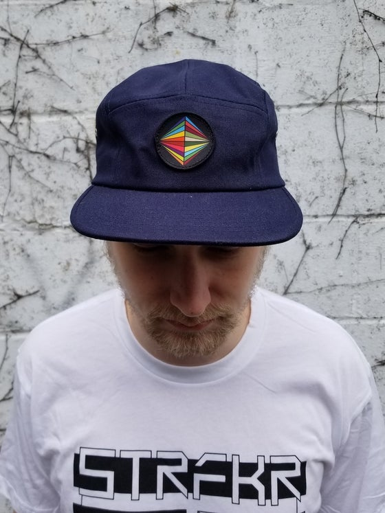 Image of Jupiter 5-Panel (Color Patch on Navy)