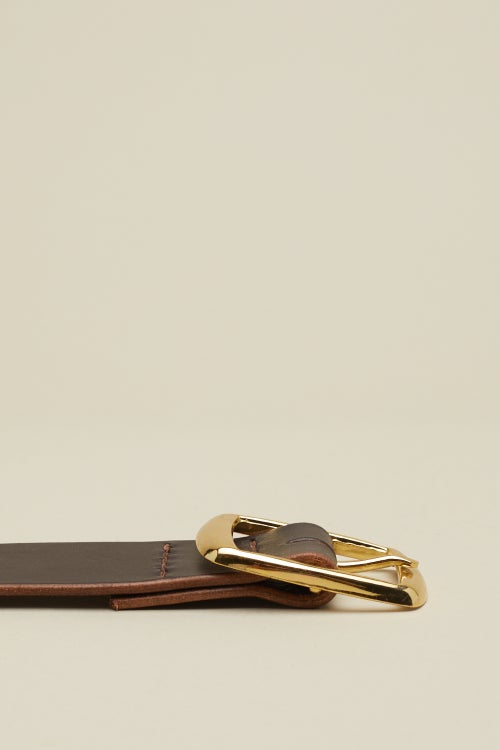 Image of Square Buckle in Walnut