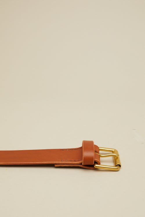 Image of Roller Buckle in Tan