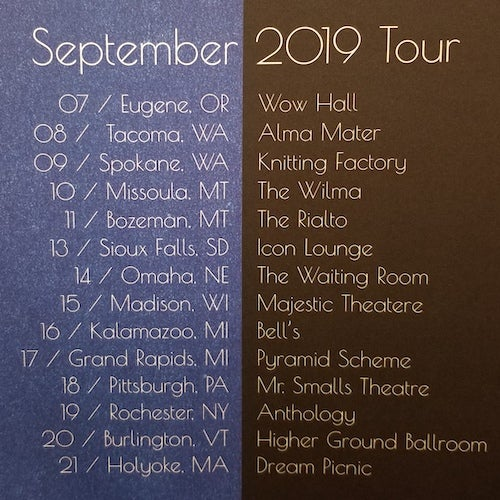 Image of September Tour 2019
