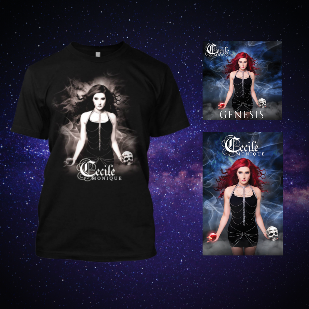 Image of Cecile Monique - GENESIS - Merch Bundle