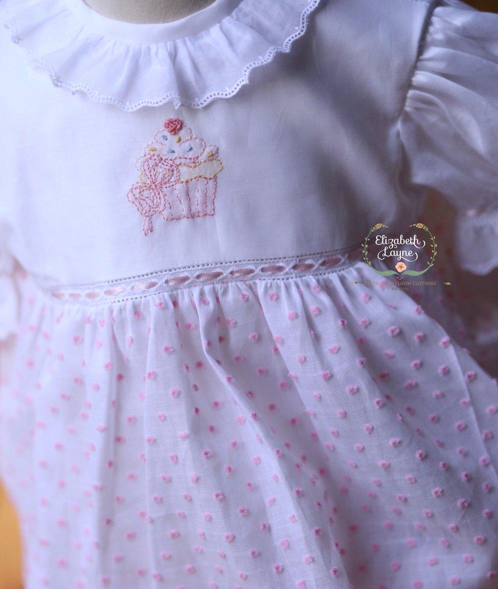Image of Swiss Dot Birthday Bubble & Dress