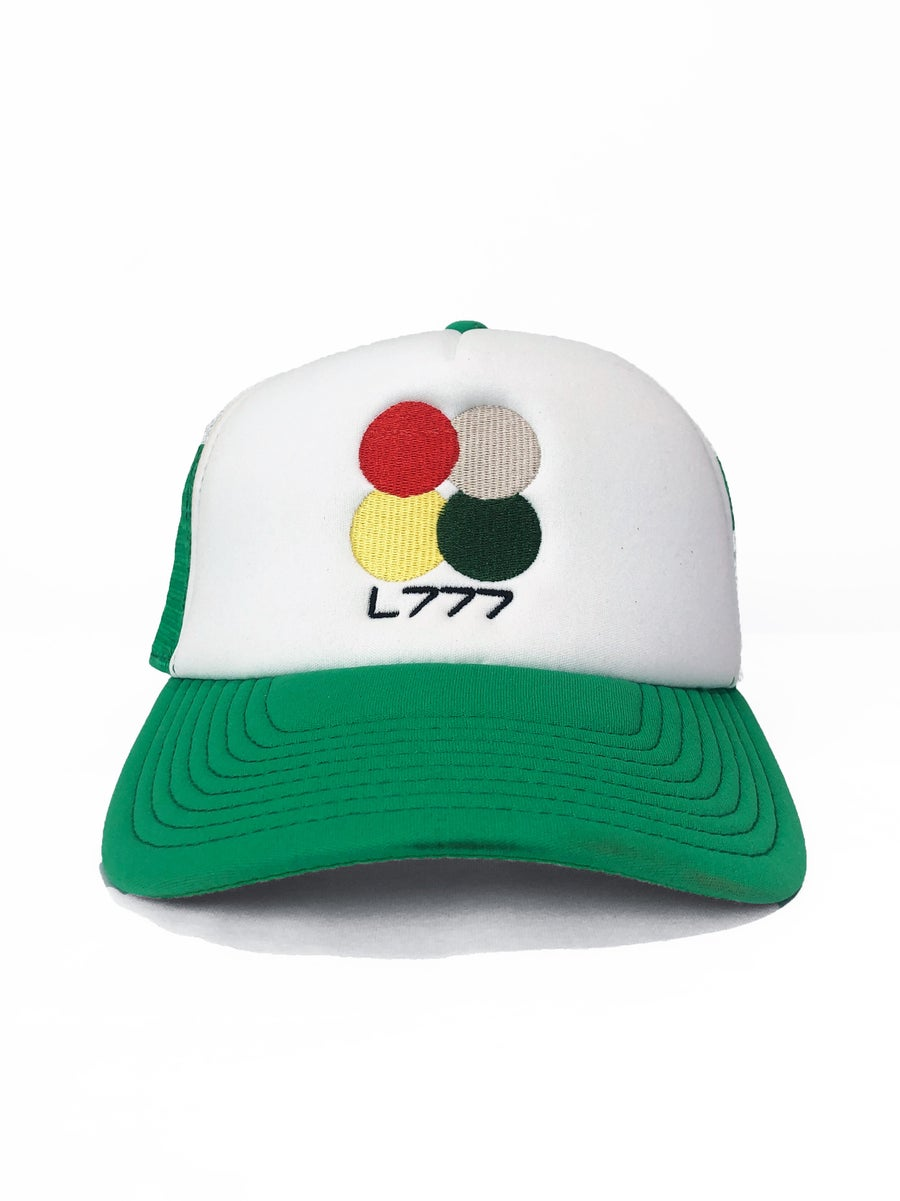Image of L777 CC CAP (GREEN/WHITE)