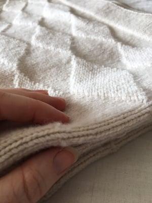 Image of NZ Lambs Wool Cot Blanket