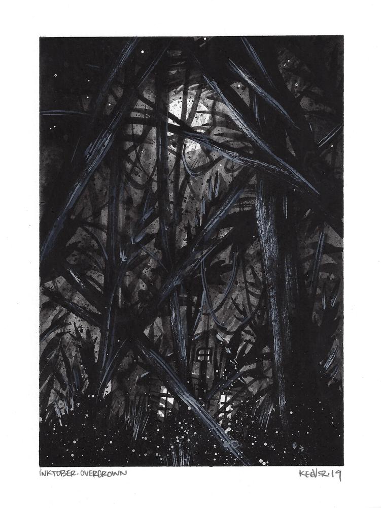Image of Overgrown - Original Painting
