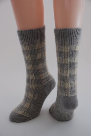 Image of Luxury Possum Adult Socks - Dreaming - 1 pair