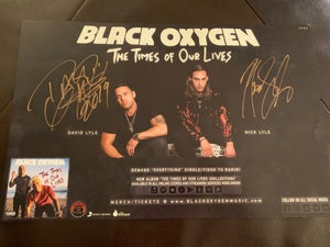 "Image of ""THE TIMES OF OUR LIVES"" Signed Collector Poster"