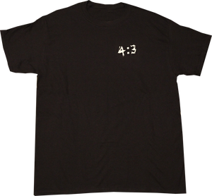 Image of SK8RATS 4:3 T-Shirt (Black)
