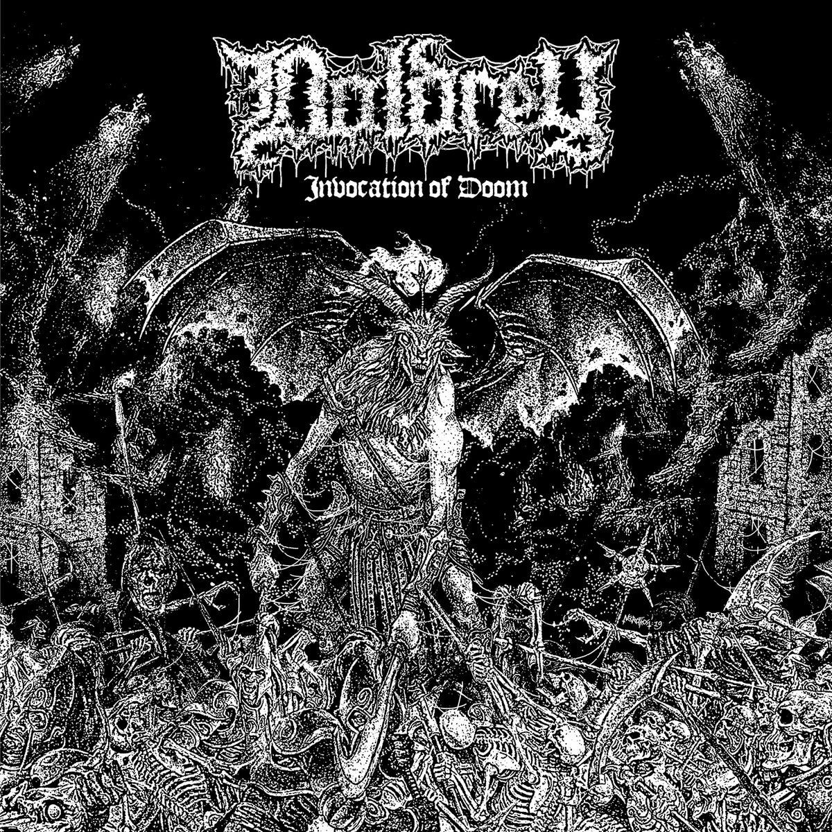 Image of DOLDREY - Invocation Of Doom etched MLP [Pre-Order. Out 11.22.19]