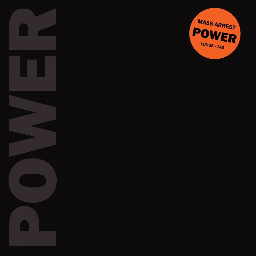 Image of MASS ARREST - Power LP [Pre-Order. Out 11.22.19]