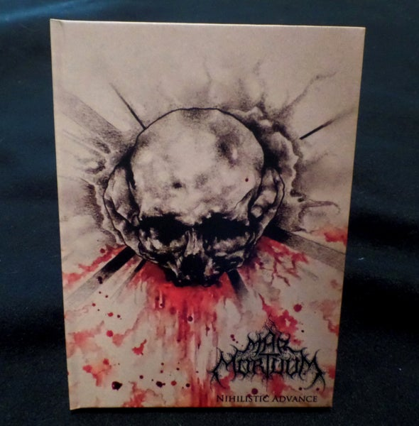 Image of Mar Mortuum - Nihilistic Advance CD Digibook