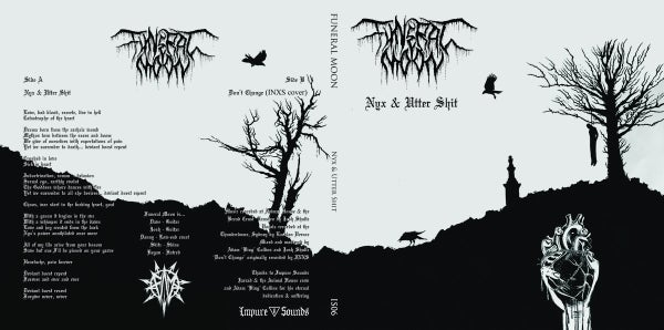 Image of Funeral Moon - Nyx & Utter Shit 7""