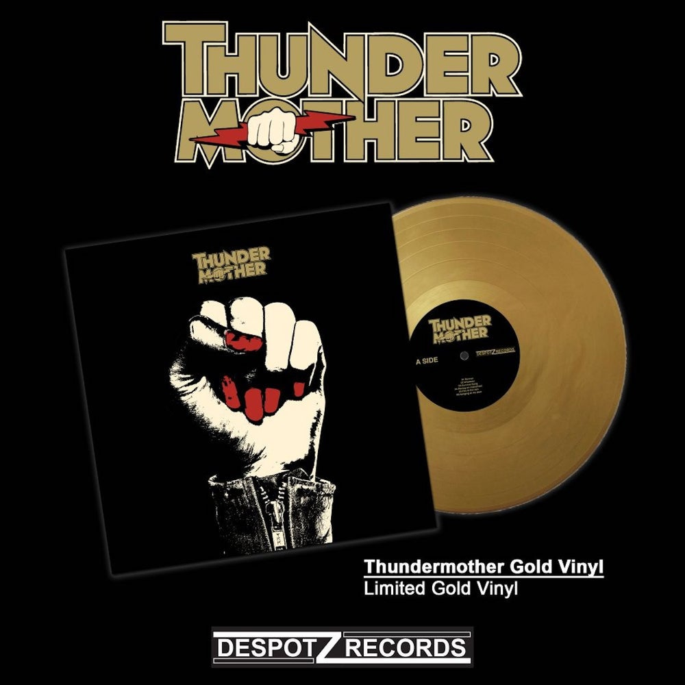 Image of Thundermother - Thundermother (Limited Gold Vinyl)