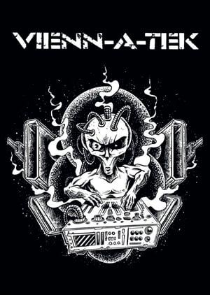 Image of Alien DJ Sticker