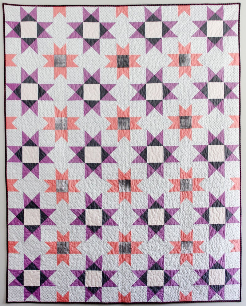 Image of the FARMHOUSE QUILT pdf pattern