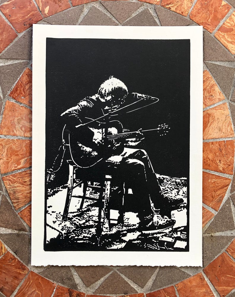 Image of Solo + Acoustic print