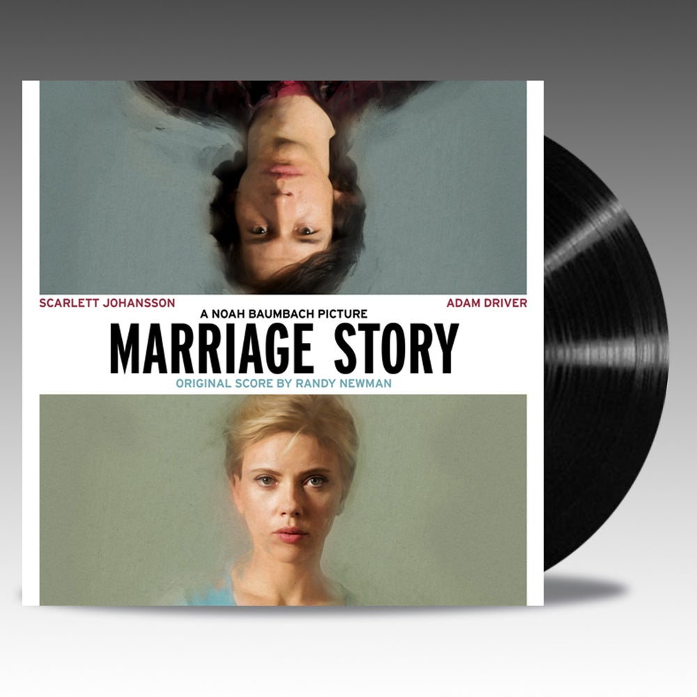 Image of Marriage Story Original Score 'Classic Black Vinyl' - Randy Newman