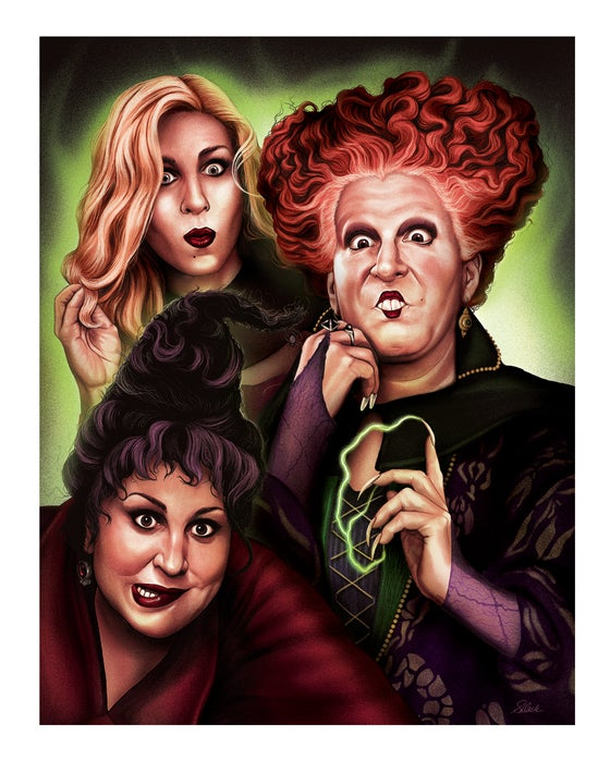 Image of *SURPRISE HOCUS POCUS PRINT* Happy Halloween!!!