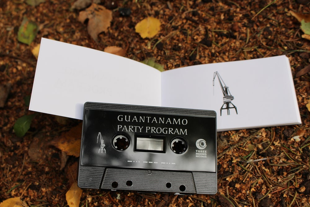 "Image of GUANTANAMO PARTY PROGRAM ""BOX"" /CRANE BOLTS EDITION/"