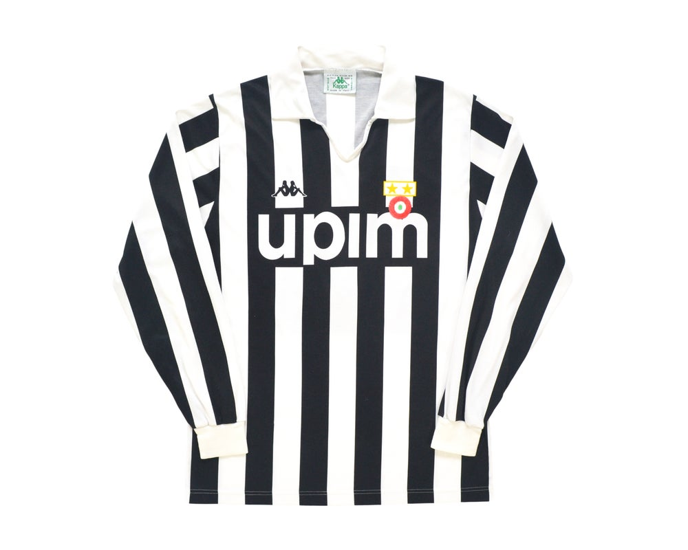 Image of 1989-90 Kappa Juventus Home Shirt '7' M