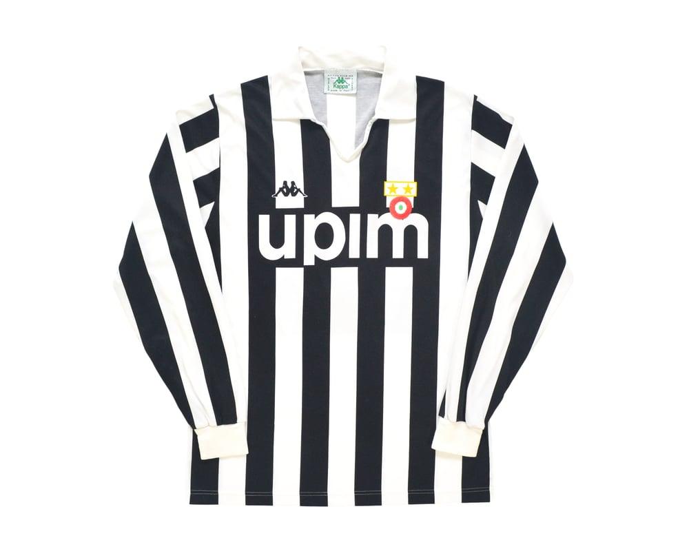Image of 1989-90 Kappa Juventus Home Shirt '7' M