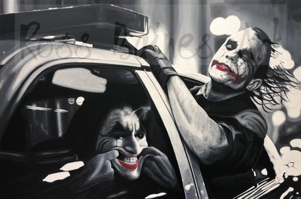Image of JOYRIDE (3x2ft canvas print)