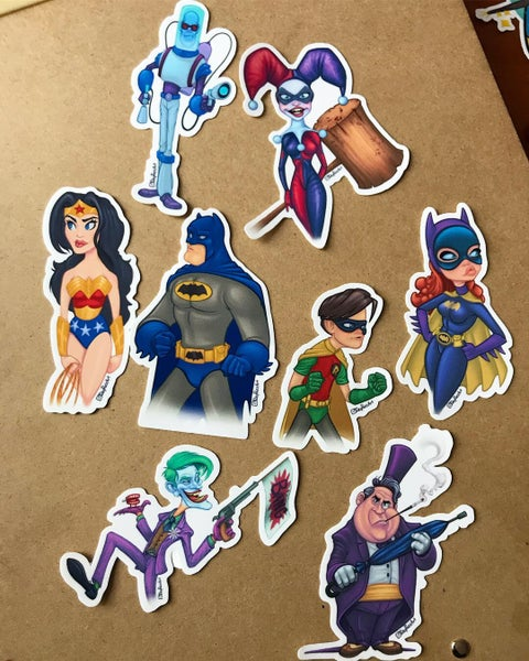 Image of Dc sticker pack