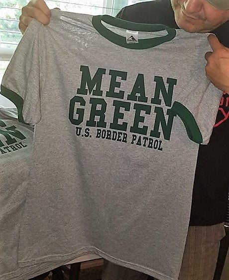 Image of VINTAGE MEAN GREEN ACADEMY TEE