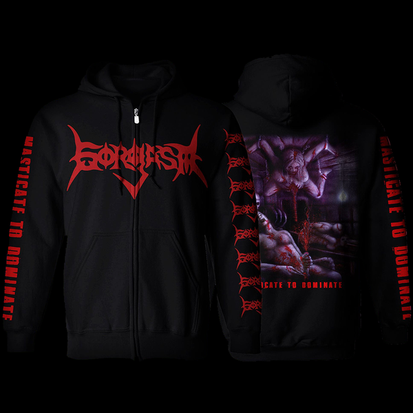 Image of Masticate to Dominate Zipper Hoodie