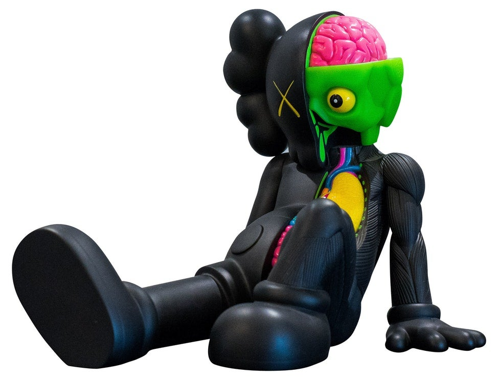 Image of KAWS RESTING PLACE ( BLACK )