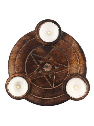 Image of PENTAGRAM TEALIGHT CANDLE HOLDER