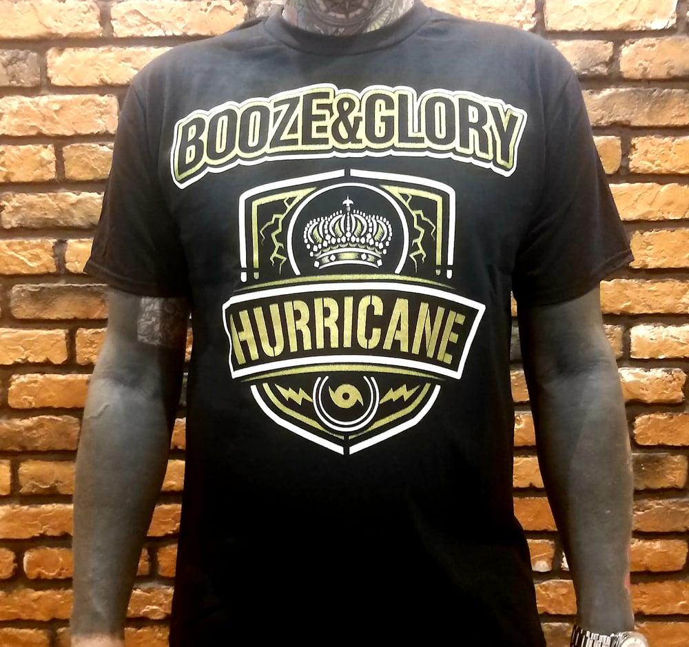 Image of Booze & Glory Hurricane TShirt