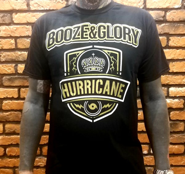 Image of Booze & Glory Hurricane TShirt