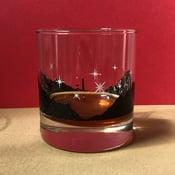 "Image of Mondocon 5 ""Lagoon"" Whiskey Glass"