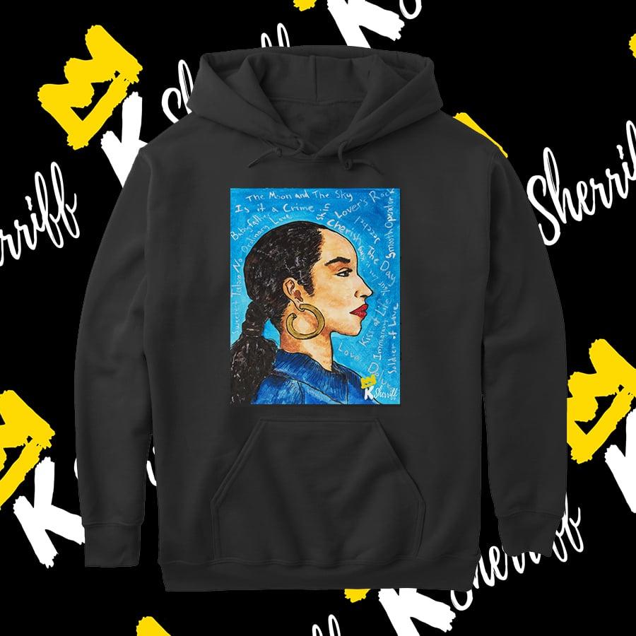 Image of Sade Adu Hooded Sweatshirts