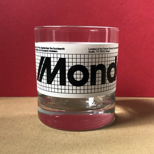 "Image of Mondocon 5 ""Mission"" Whiskey glass"