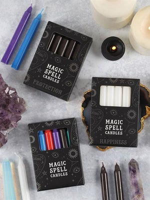 Image of MIXED Spell Candles (12)