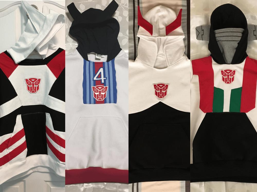 Image of Transformers hoodie