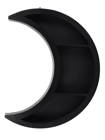 Image of **NEW WITH DEFECTS** CRESCENT MOON Wall Shelf
