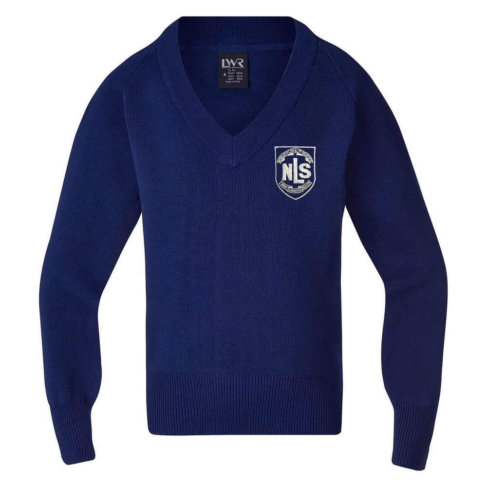 Image of NLS Jumper - V Neck, Knitted