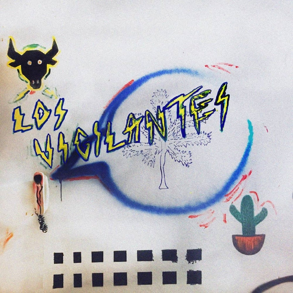 "Los Vigilantes ""Que Descaro/Tus Cartas Llegan"" vinyl single"