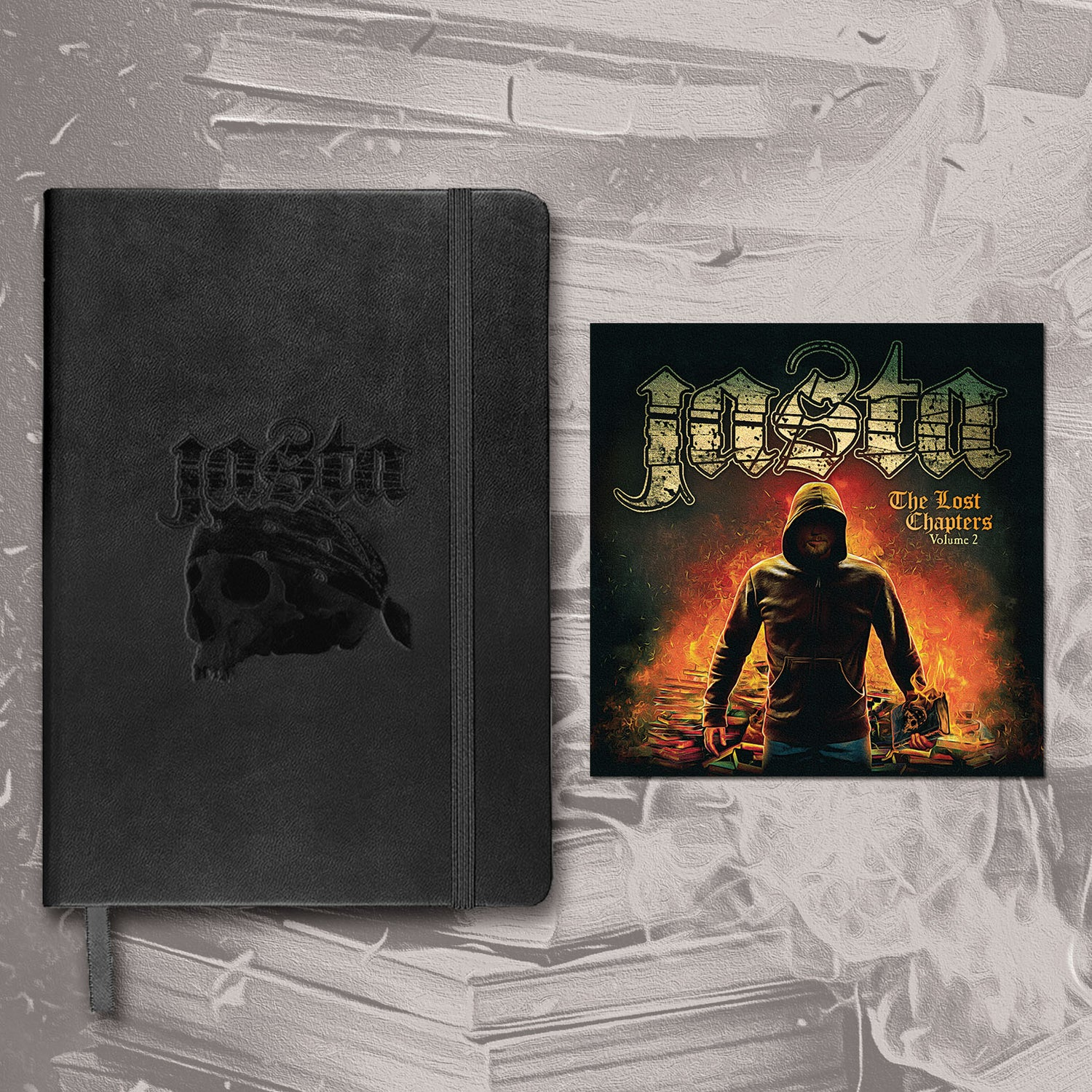 "Image of JASTA 80 Page Journal + signed ""The Lost Chapters Volume 2"" CD BUNDLE"